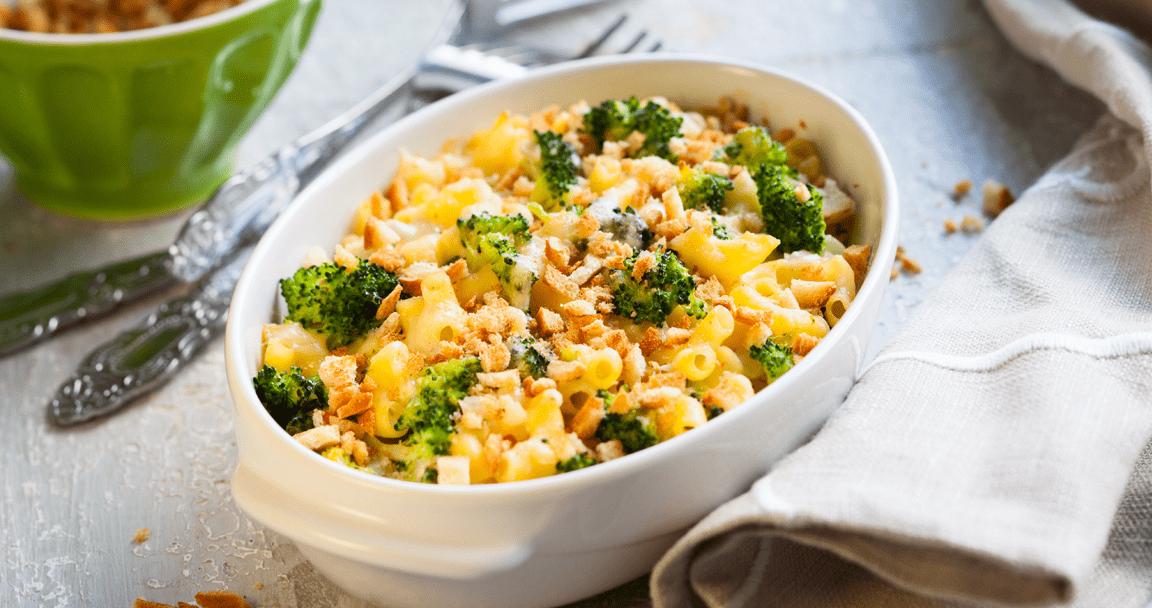 Pasta con broccoli al forno - Parmalat