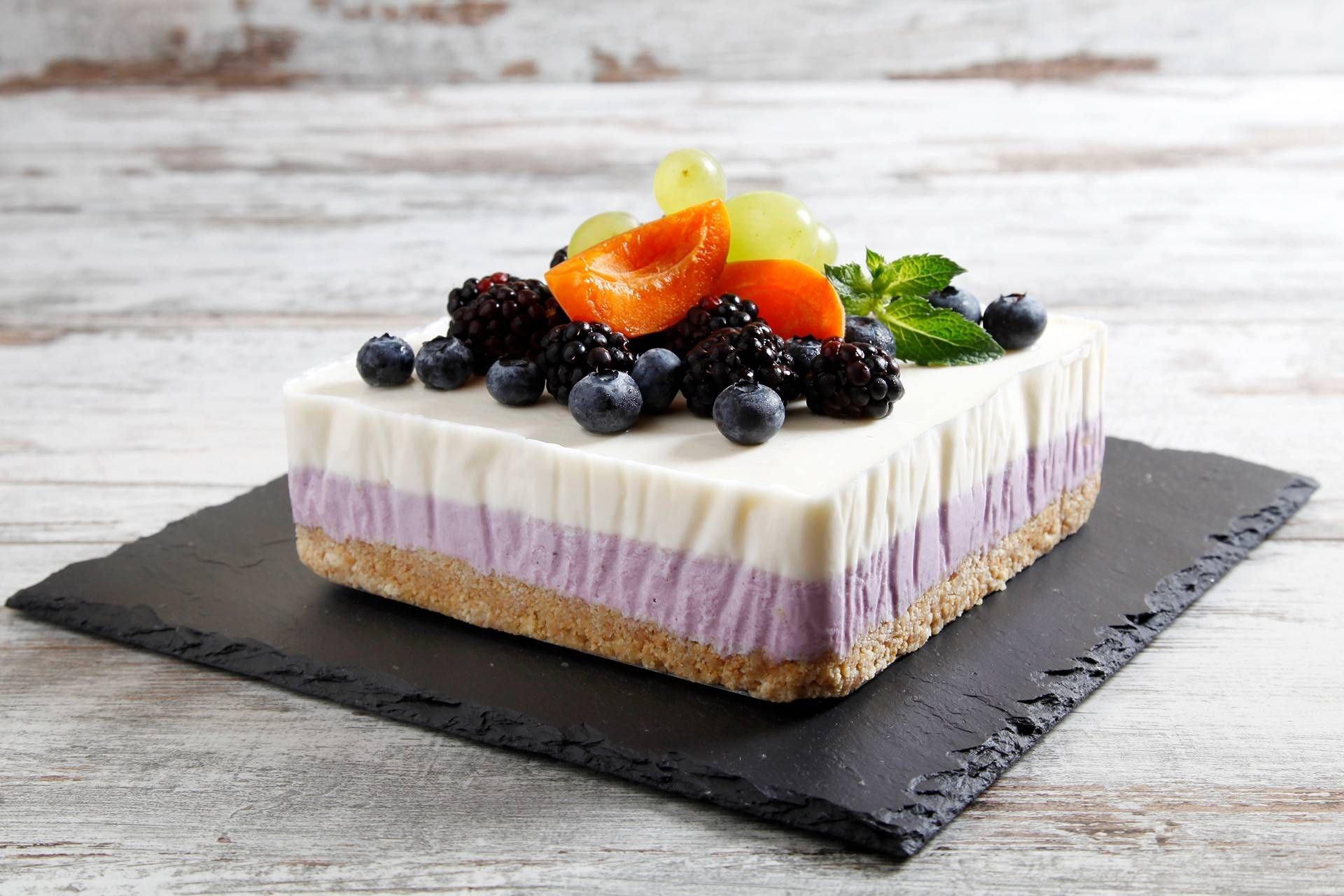 Cheesecake ai Mirtilli con Panna Fresca - Parmalat