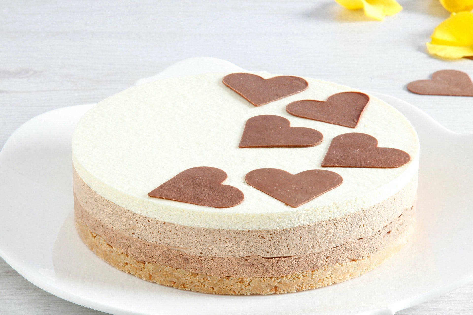 Torta ai tre cioccolati - Parmalat