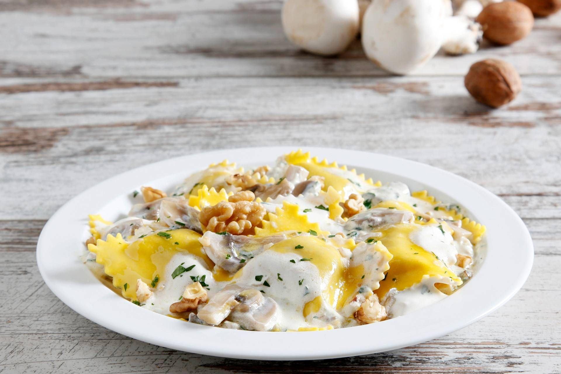 Ravioli con funghi - Parmalat