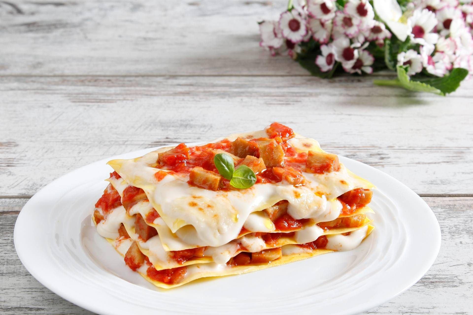Lasagne al ragù di seitan - Parmalat