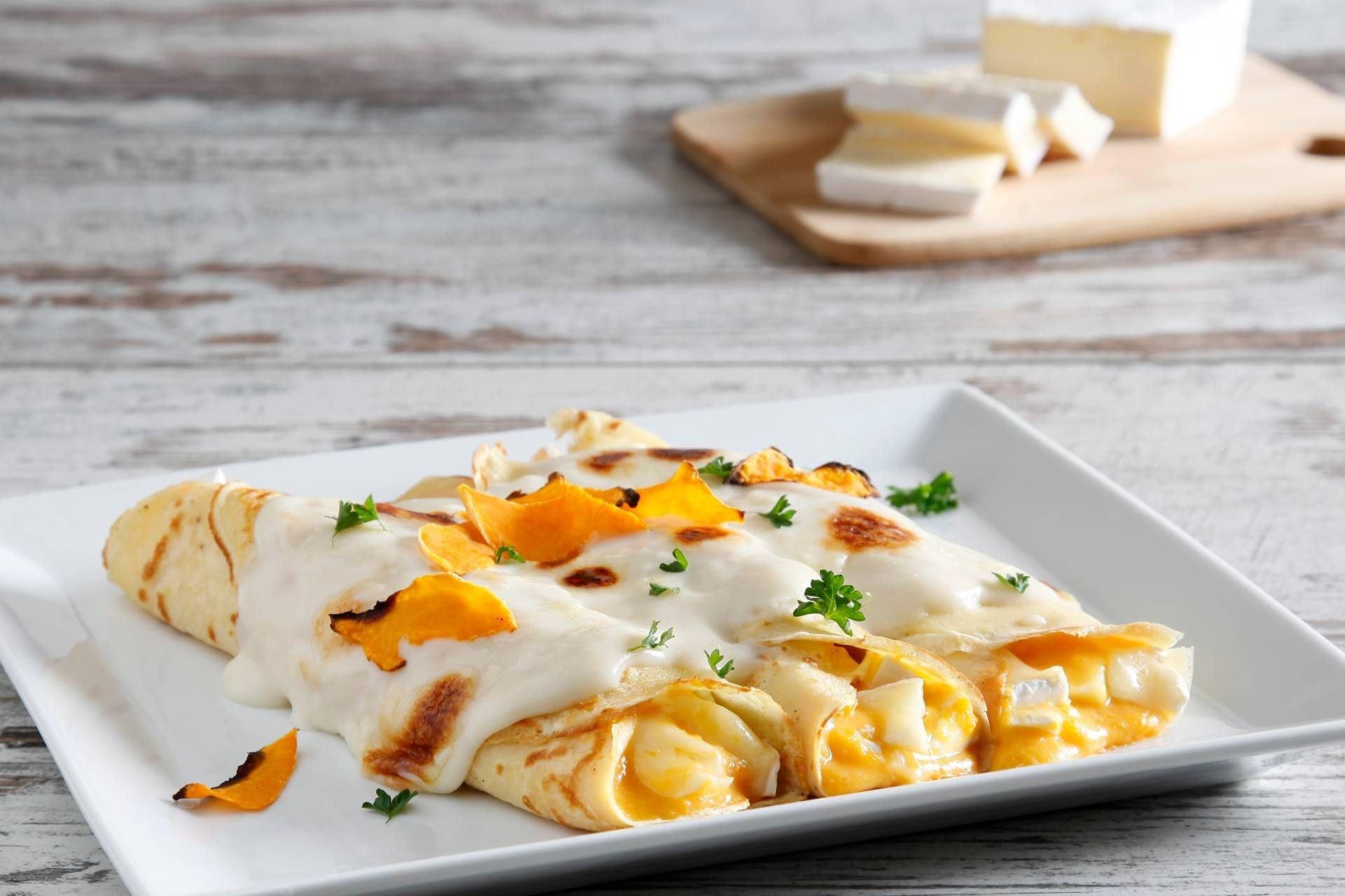 Cannelloni di Crepes con Zucca e Brie - Parmalat