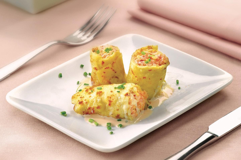 Crêpes al salmone e panna - Parmalat