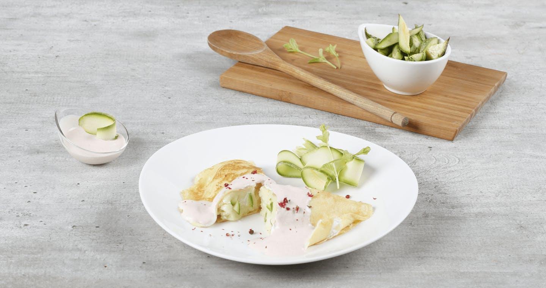 Crespelle al salmone e zucchine - Parmalat