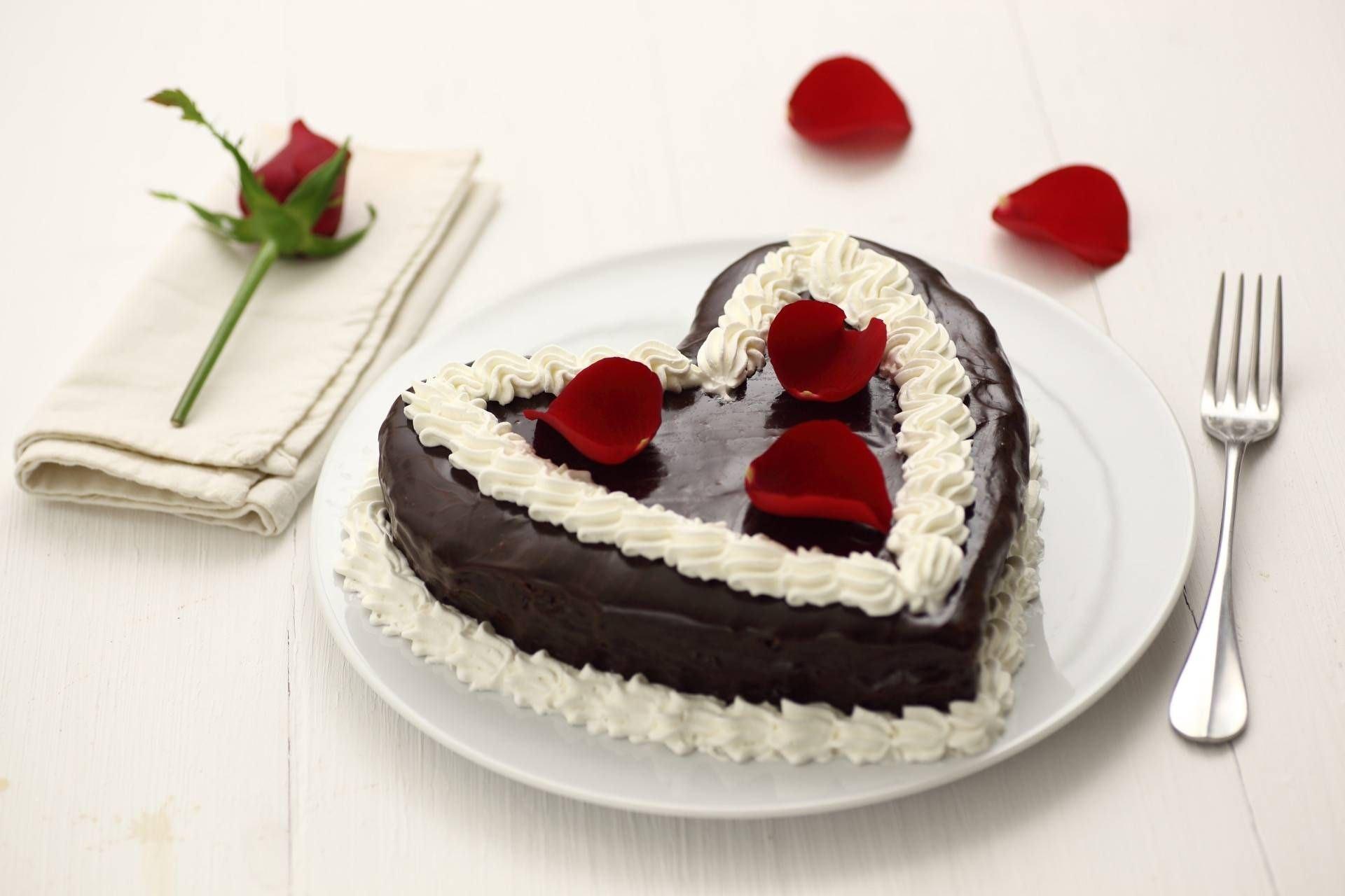 Cuore di San Valentino al cioccolato - Parmalat