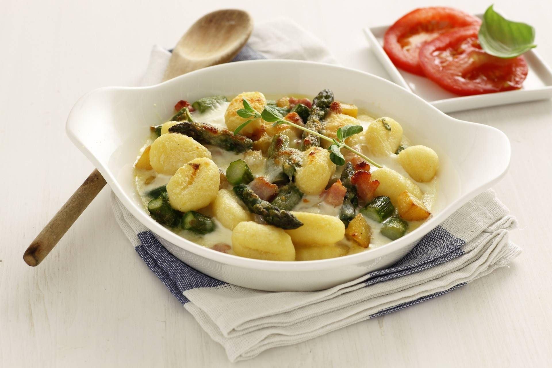 Gnocchi asparagi e pancetta - Parmalat