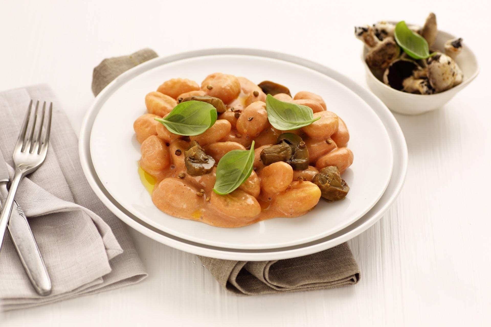 Gnocchi al rosa e funghi - Parmalat