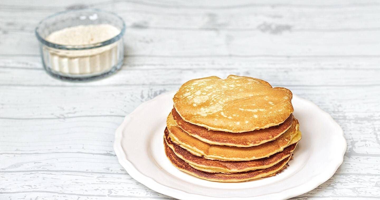 Pancake con farina di ceci - Parmalat