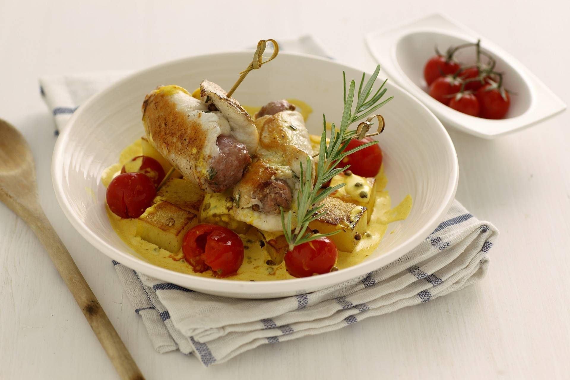 Involtini di pollo e salsiccia - Parmalat