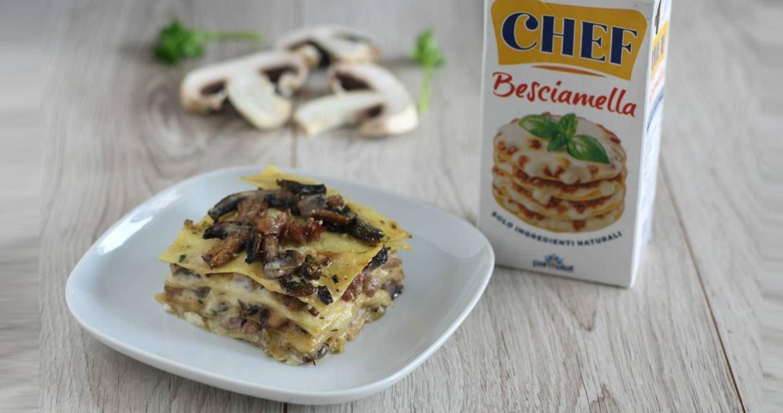 Lasagne funghi e salsiccia - Parmalat