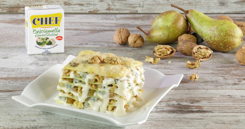 Lasagne gorgonzola, pere e noci - Parmalat