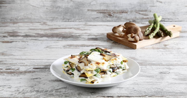 Lasagne asparagi e funghi - Parmalat
