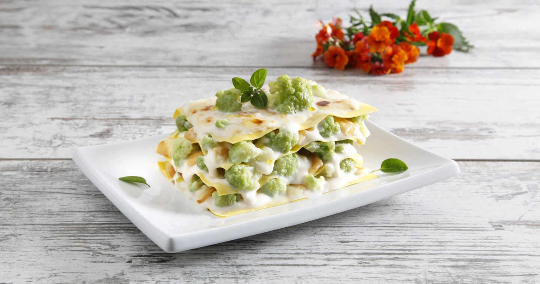 Lasagne al cavolfiore verde e scamorza - Parmalat
