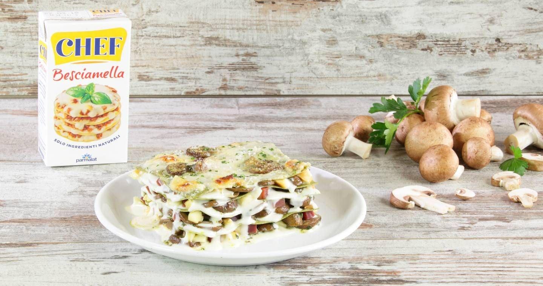 Lasagne funghi e speck - Parmalat