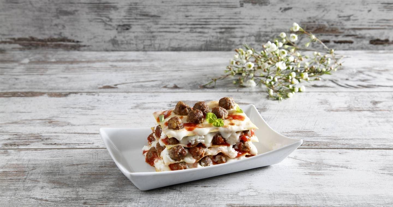 Lasagne con polpettine - Parmalat