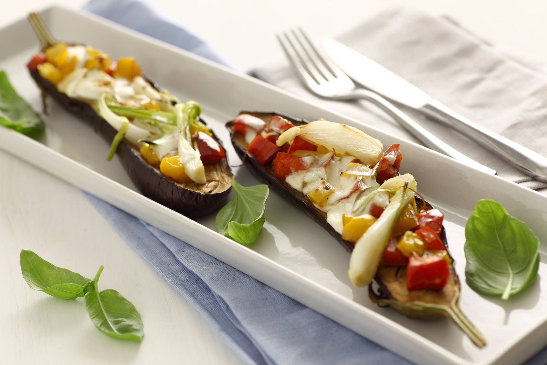 Melanzane al forno con verdure - Parmalat