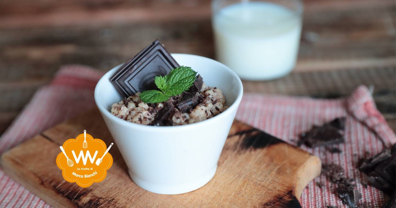 Coppetta di orzotto al cioccolato e vaniglia - Parmalat