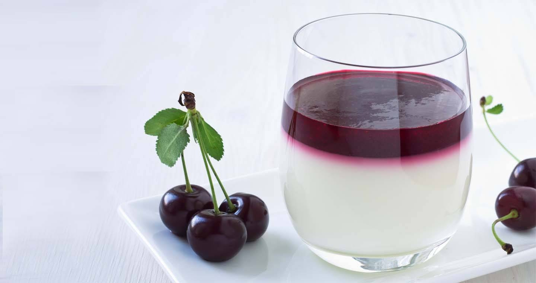 Panna cotta alle ciliegie - Parmalat
