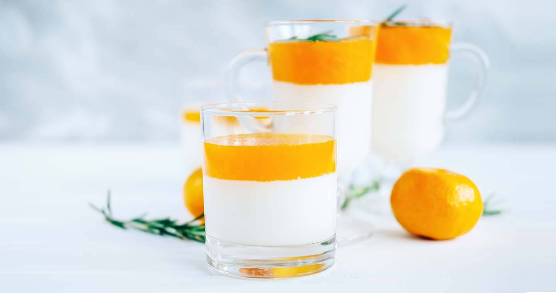 Panna cotta al mandarino - Parmalat