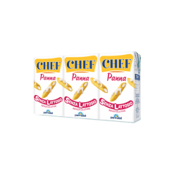 Panna senza lattosio Chef
