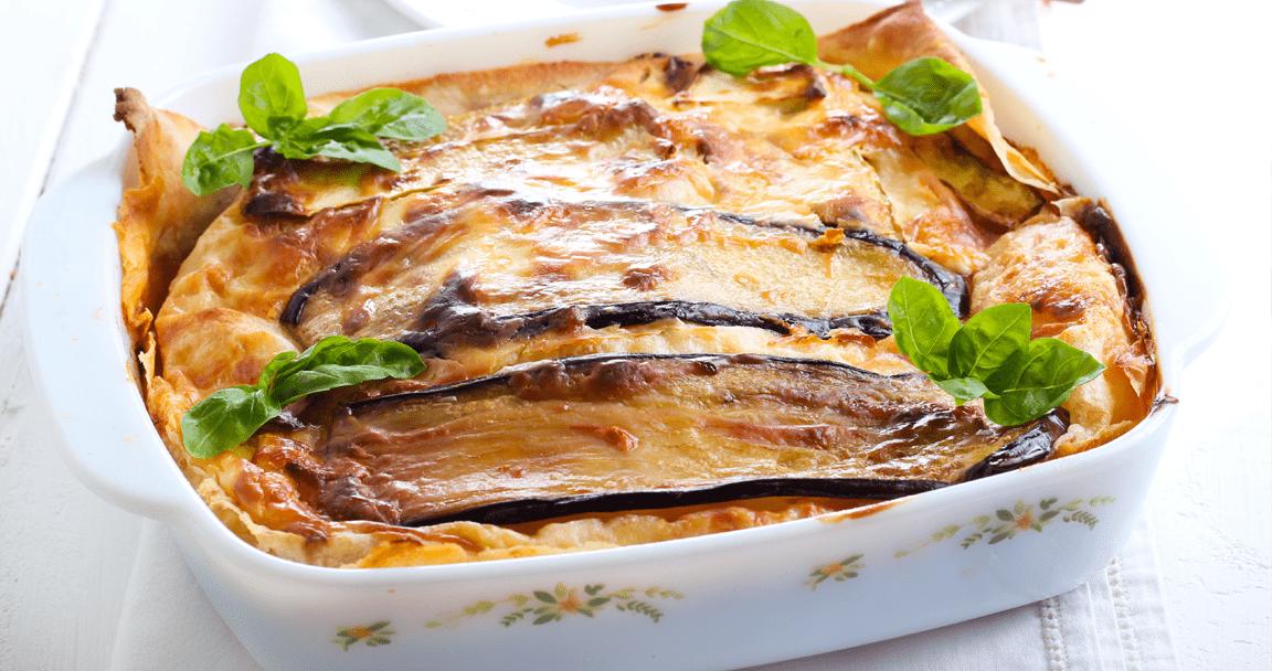 Pasta al forno con melanzane - Parmalat