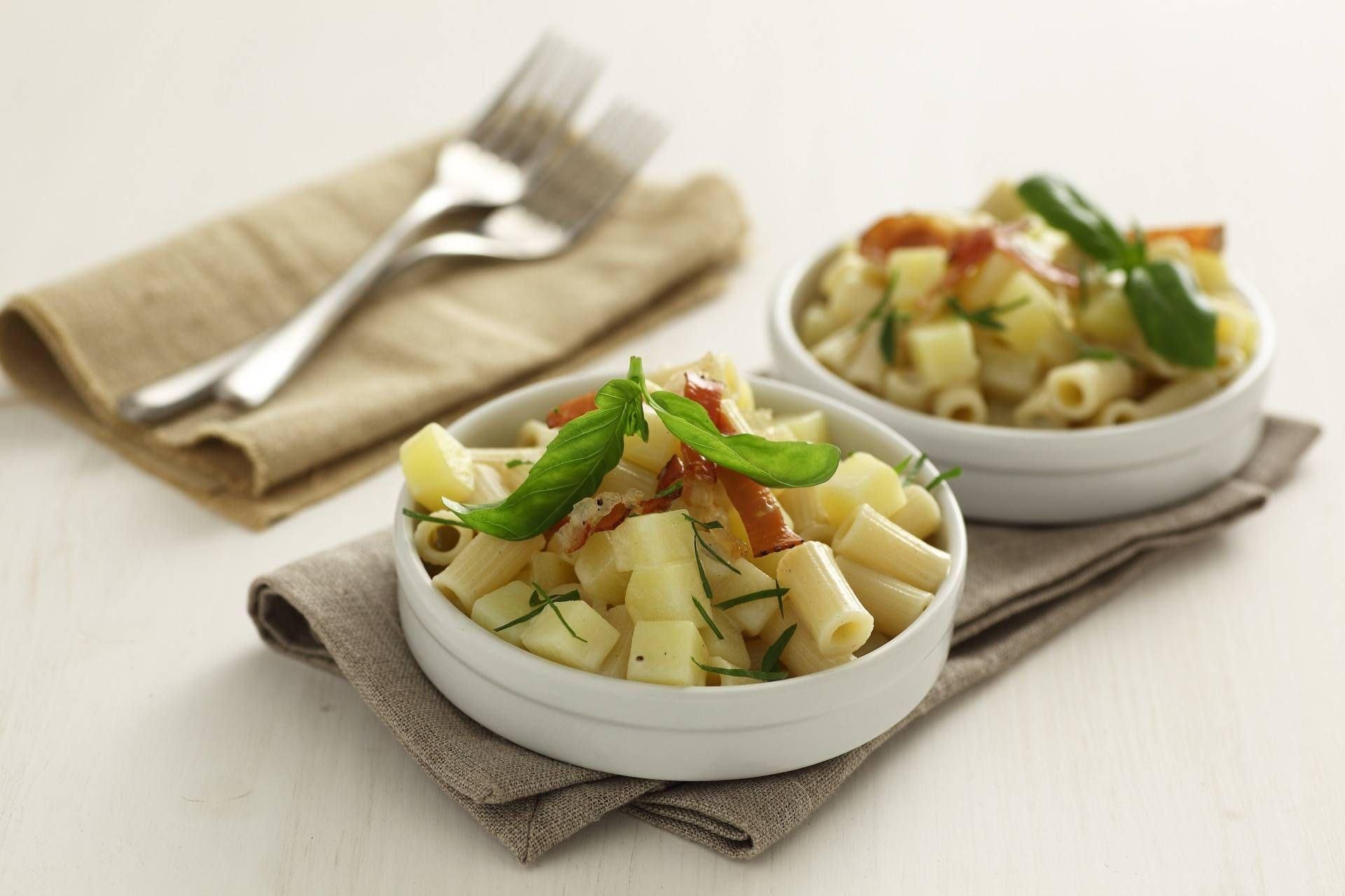 Pasta e patate alle erbe - Parmalat