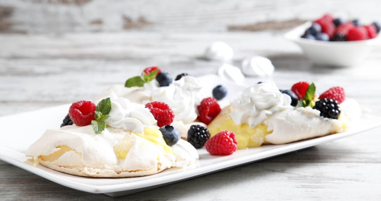 Mini pavlova ai frutti di bosco - Parmalat