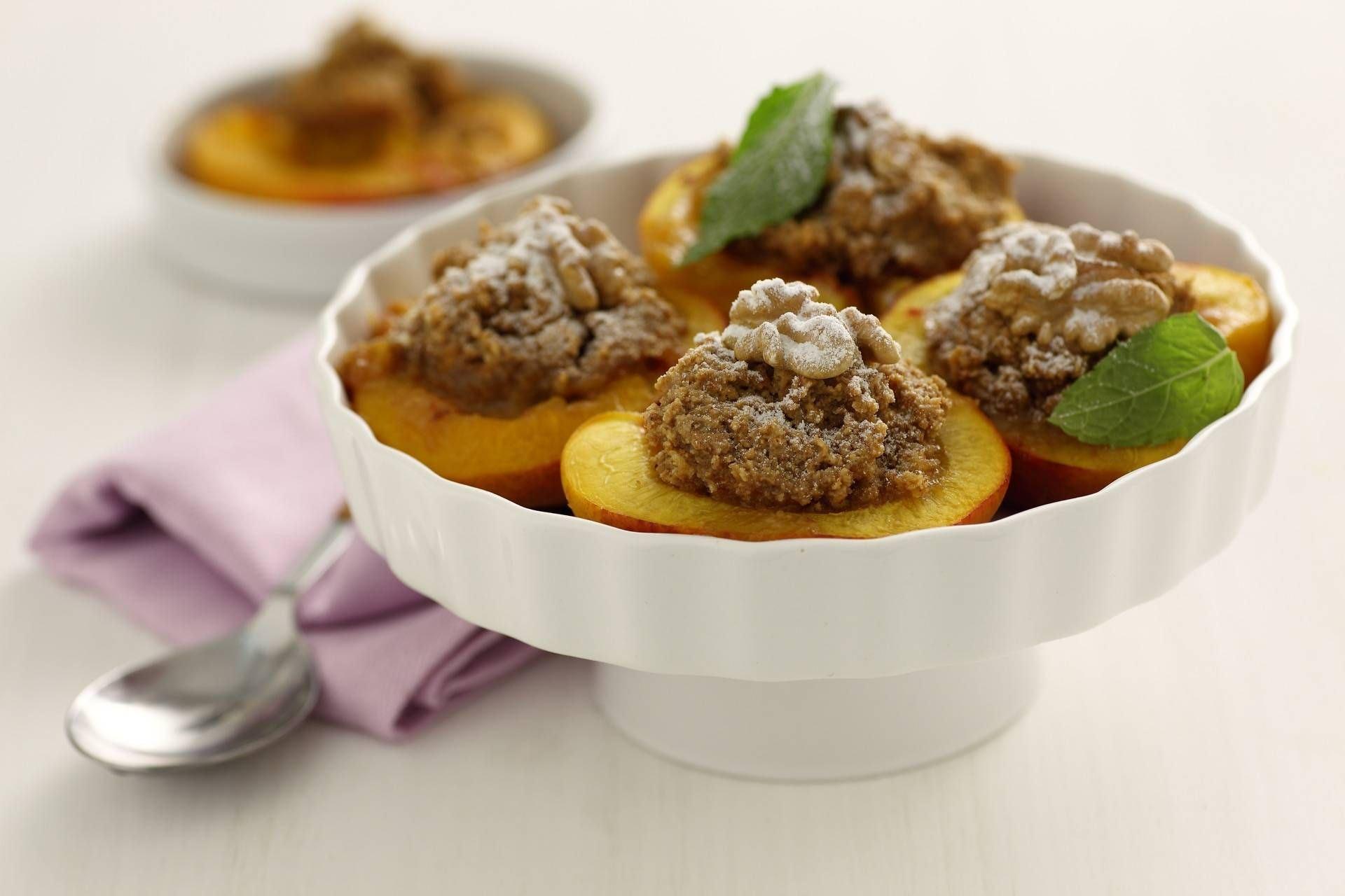 Pesche al forno - Parmalat