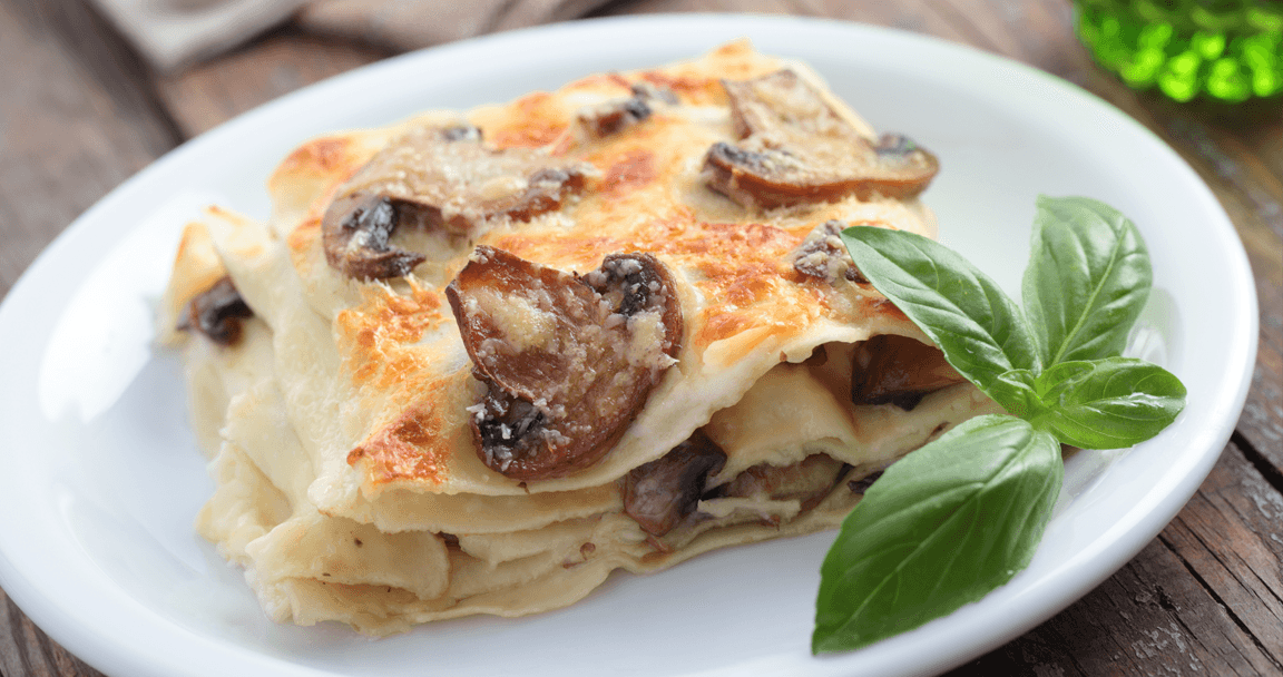 Lasagne funghi e piselli - Parmalat
