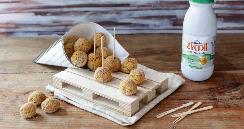 Polpette quinoa e zucca - Parmalat