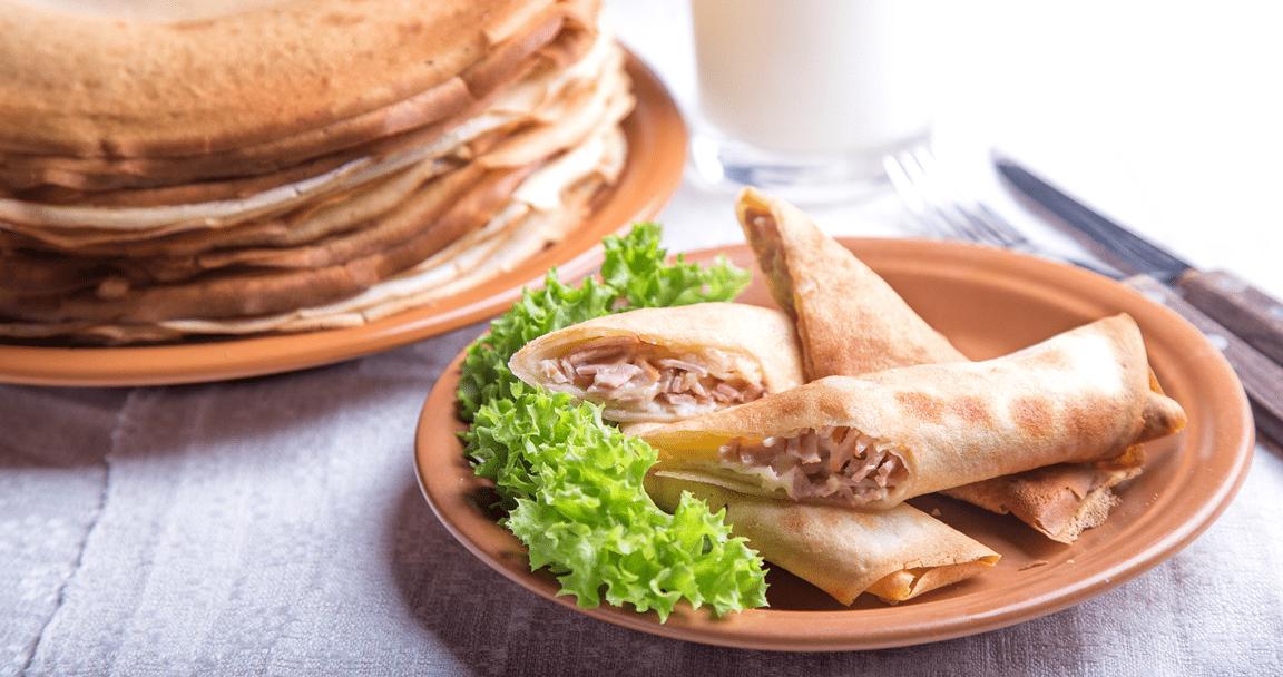 Crespelle prosciutto e mozzarella - Parmalat