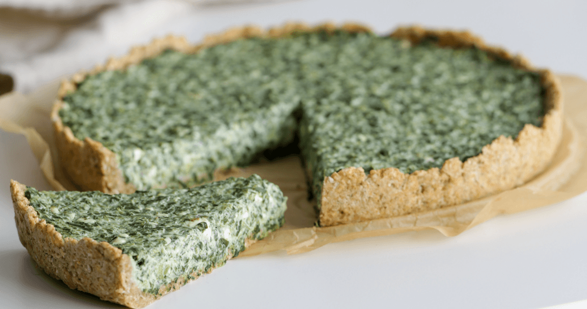 Torta salata con ricotta e spinaci - Parmalat