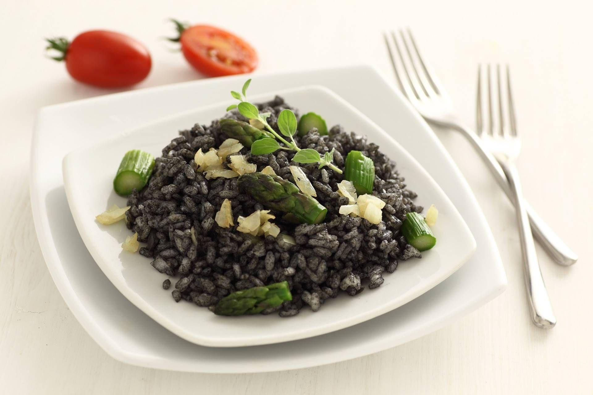 Riso nero agli asparagi - Parmalat