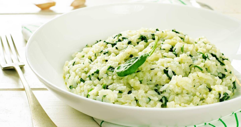 Risotto con spinaci - Parmalat