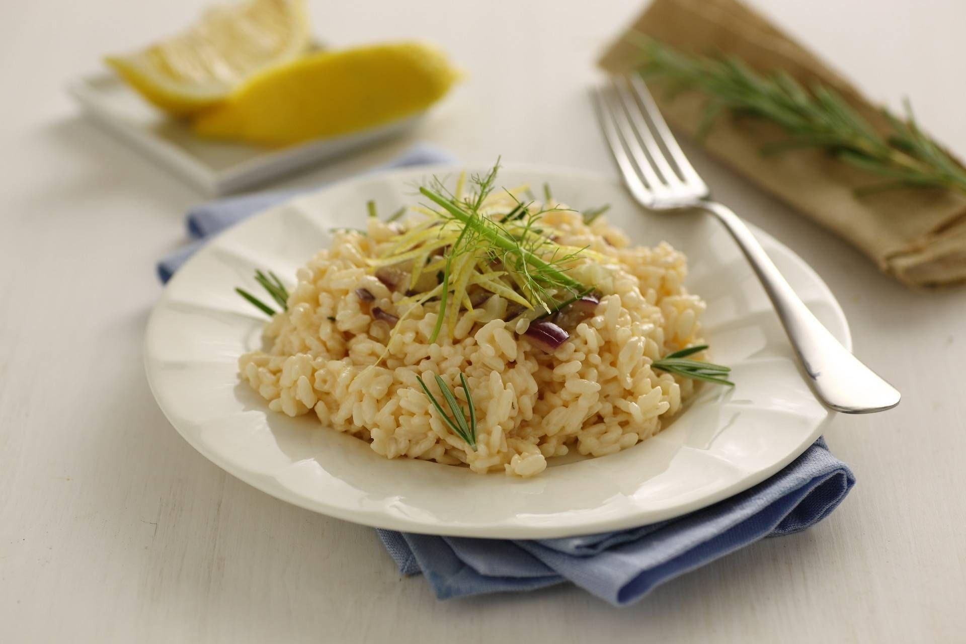 Risotto finocchi e panna al salmone - Parmalat