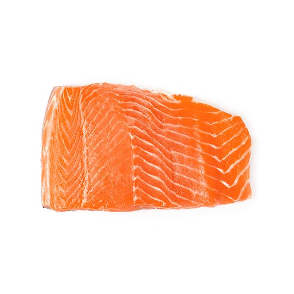 Filetto di salmone spellato e deliscato