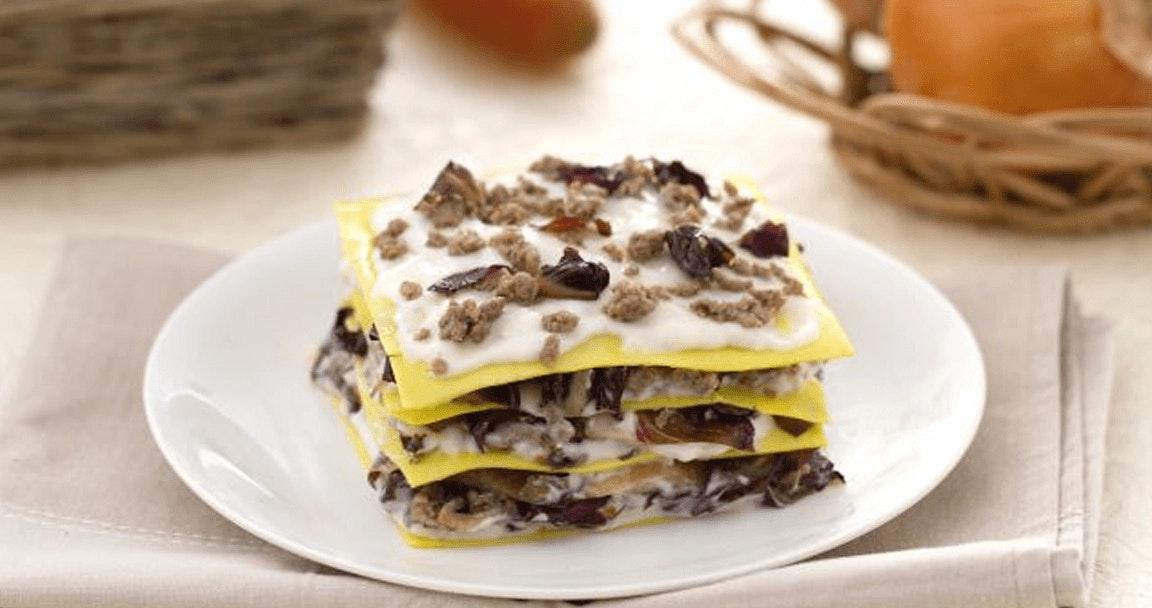Lasagne radicchio e scamorza - Parmalat