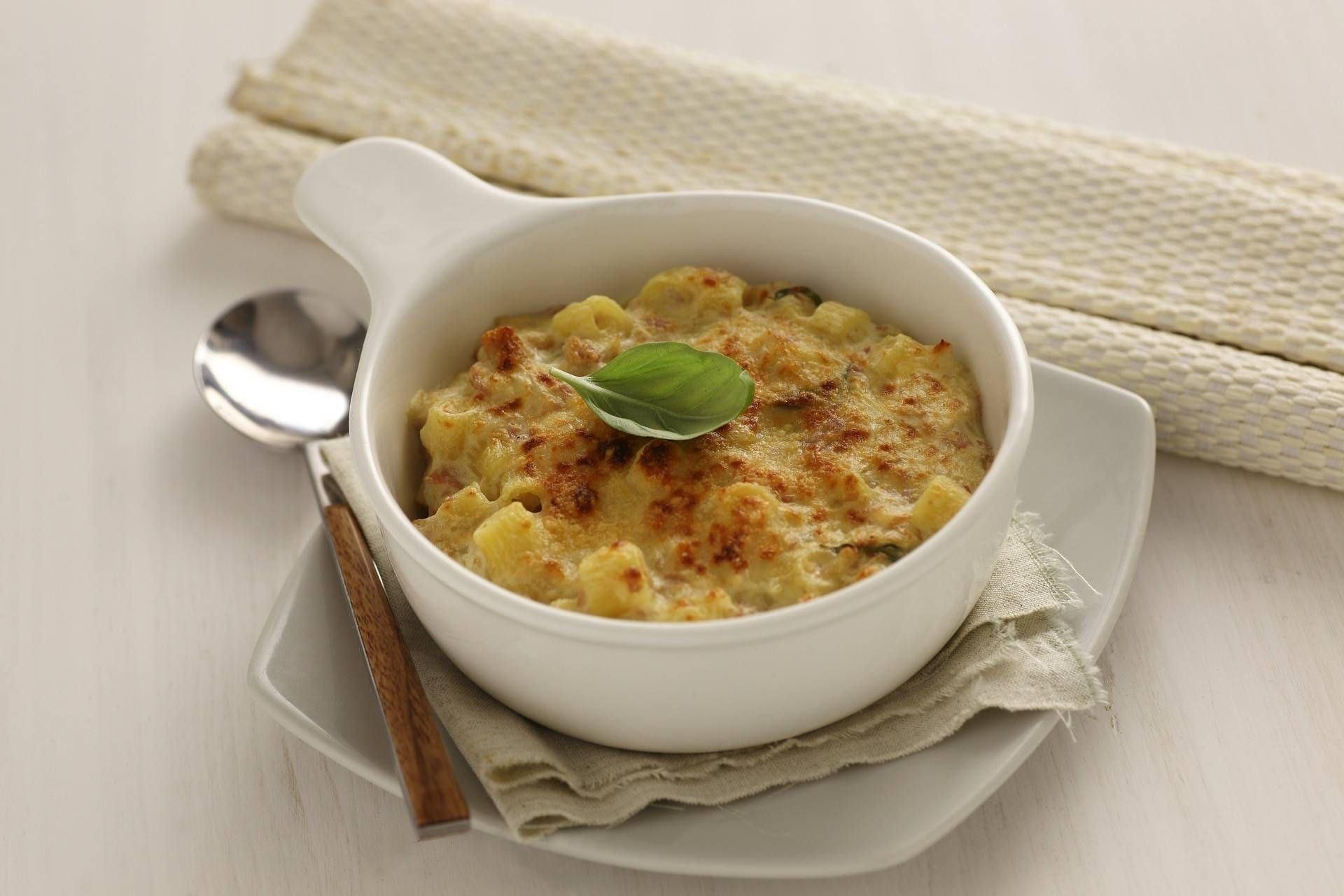 Sformatini di pasta al prosciutto crudo - Parmalat