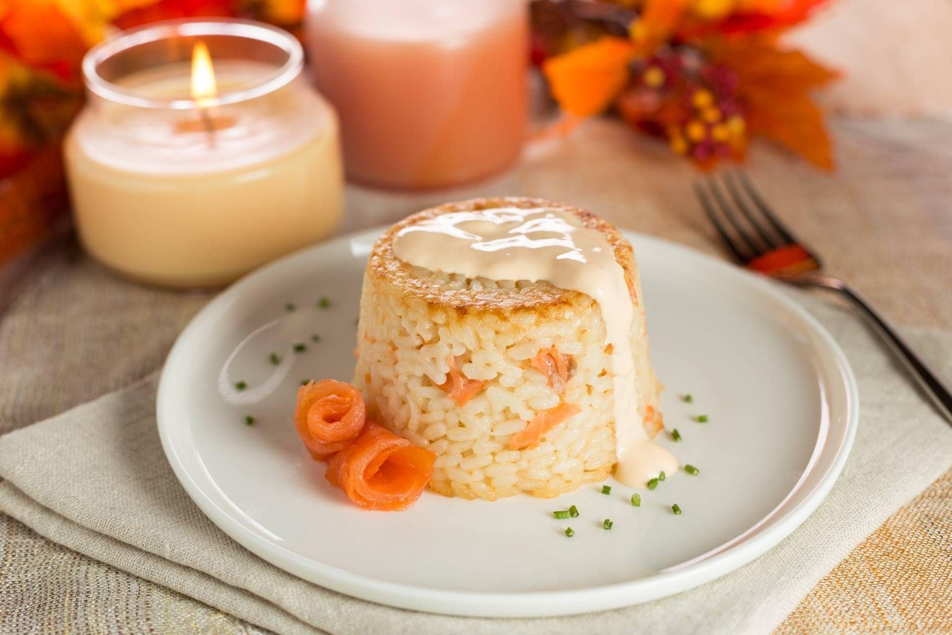 Sformatini di riso al salmone - Parmalat