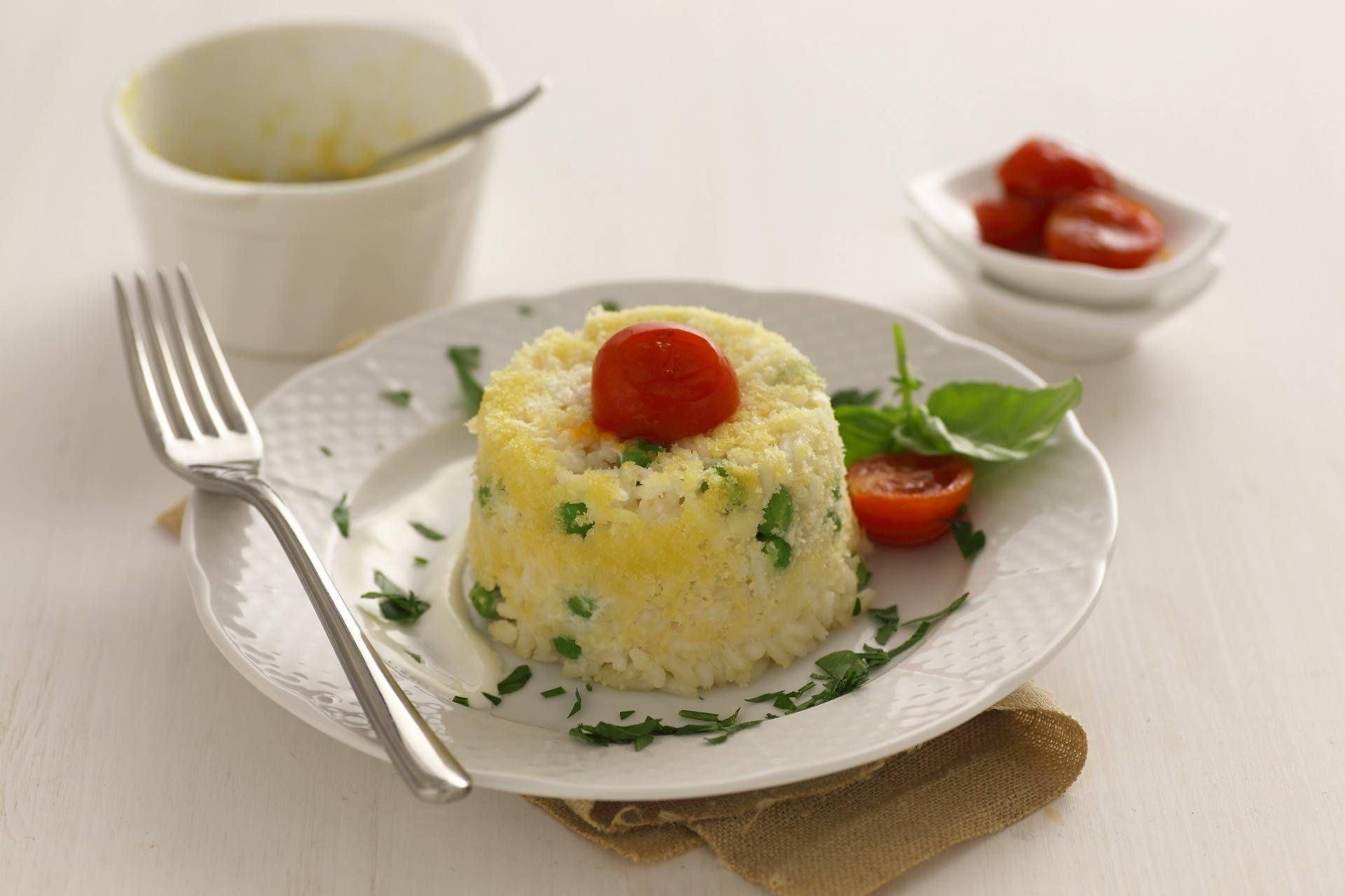 Sformatino di riso ai piselli - Parmalat