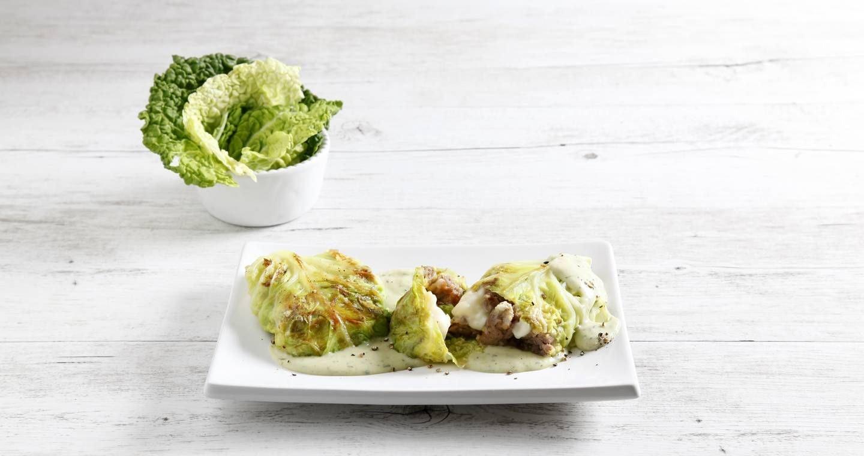 Involtini di verza e salsiccia - Parmalat