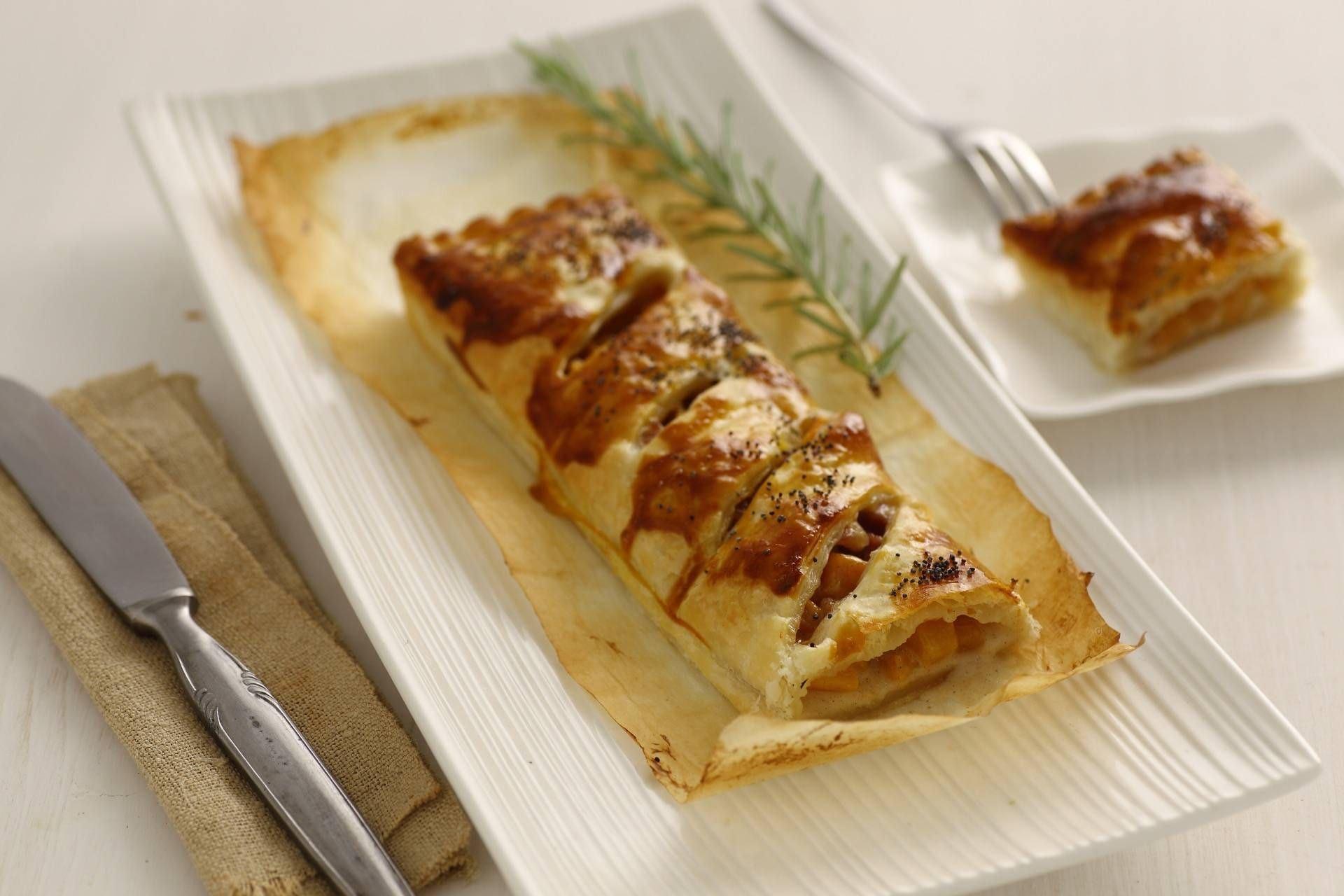 Strudel di zucca - Parmalat