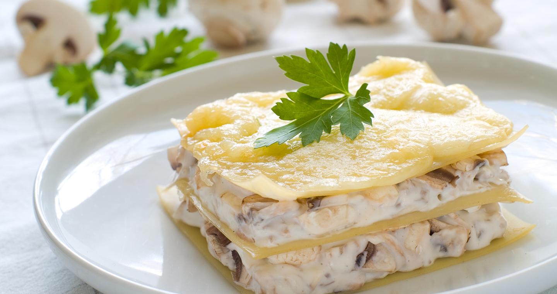 Lasagne taleggio e funghi porcini - Parmalat