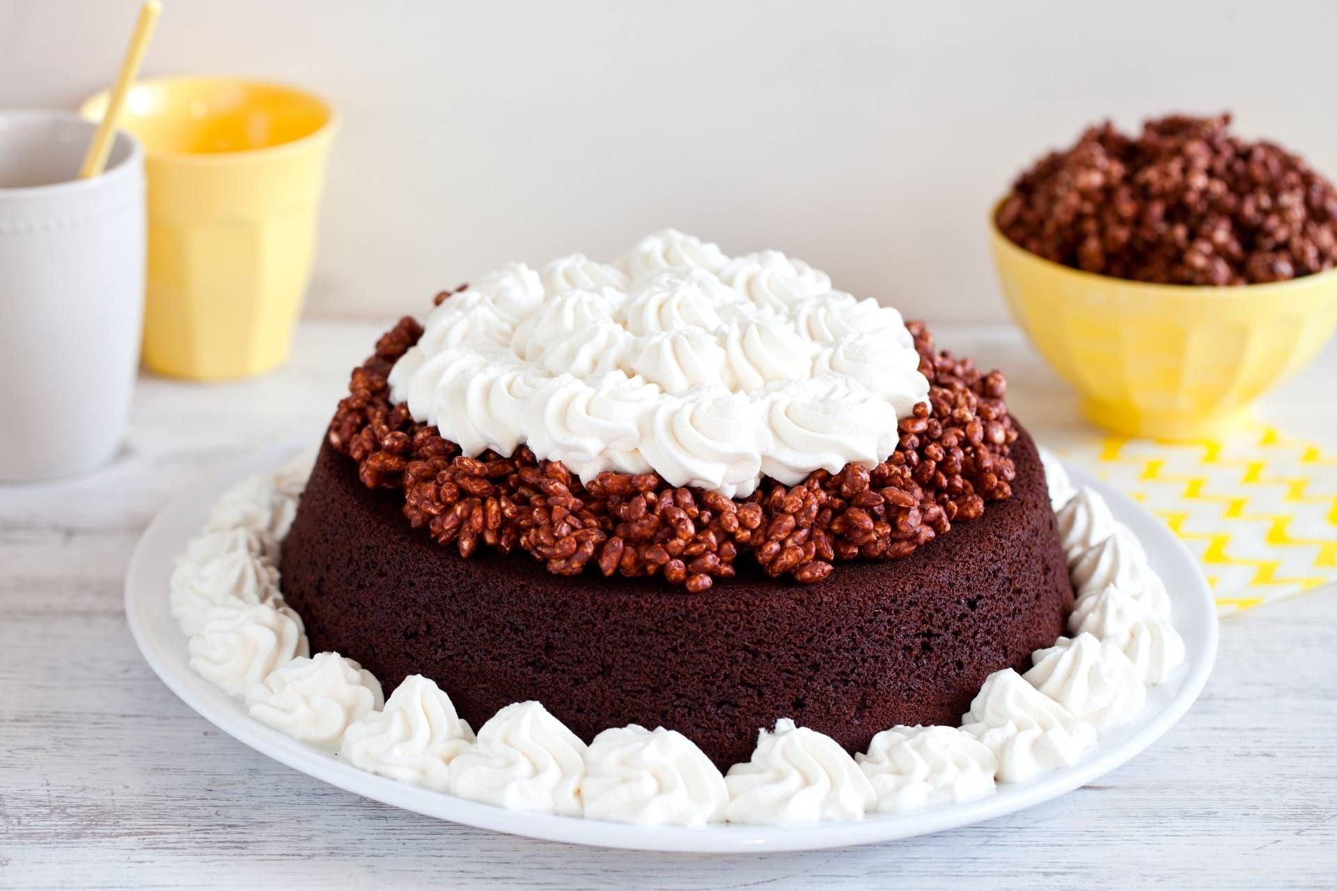 Torta al cioccolato e cannella con riso soffiato - Parmalat