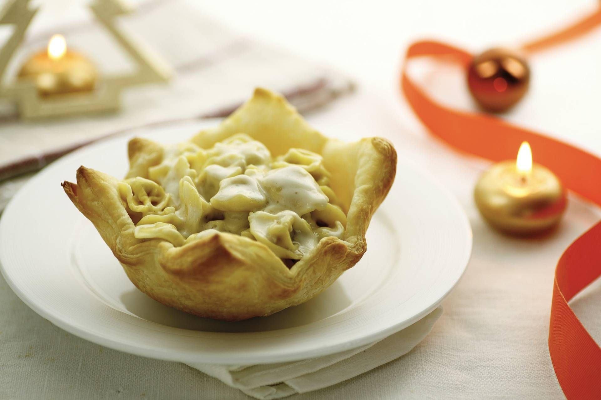 Tortellini cremosi in crosta di sfoglia - Parmalat