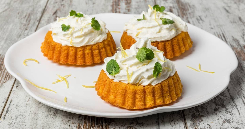 Tortine di carote con zenzero e panna - Parmalat