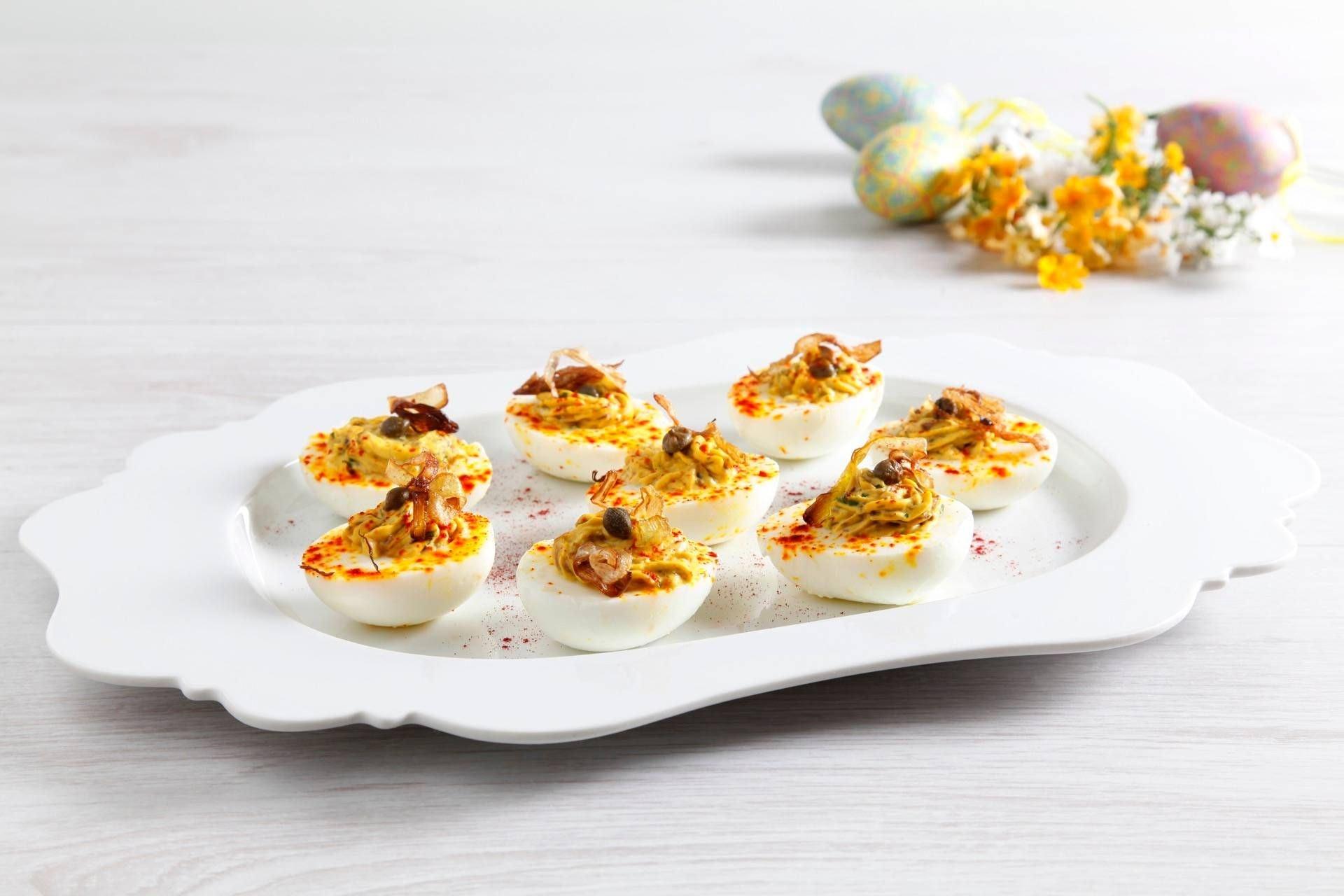 Uova ripiene allo zafferano - Parmalat