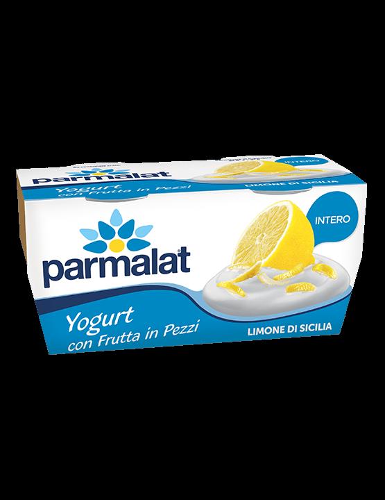 Yogurt Parmalat Limone di Sicilia in Pezzi