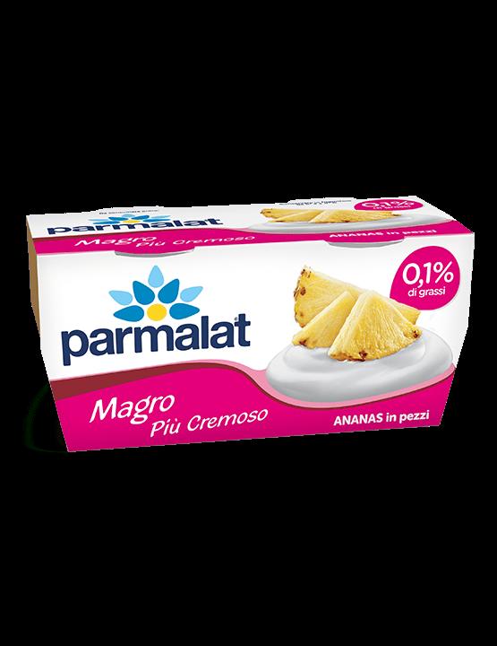 Yogurt Parmalat Magro più cremoso Ananas