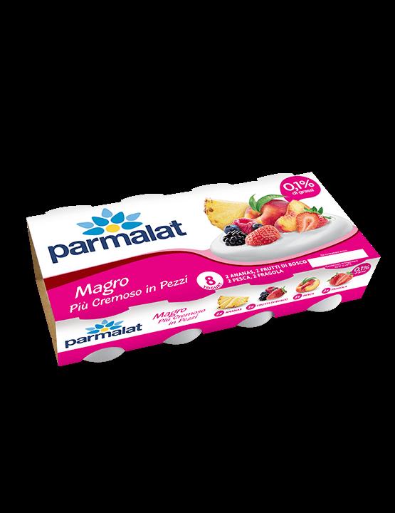 8 Yogurt Parmalat Magro più cremoso